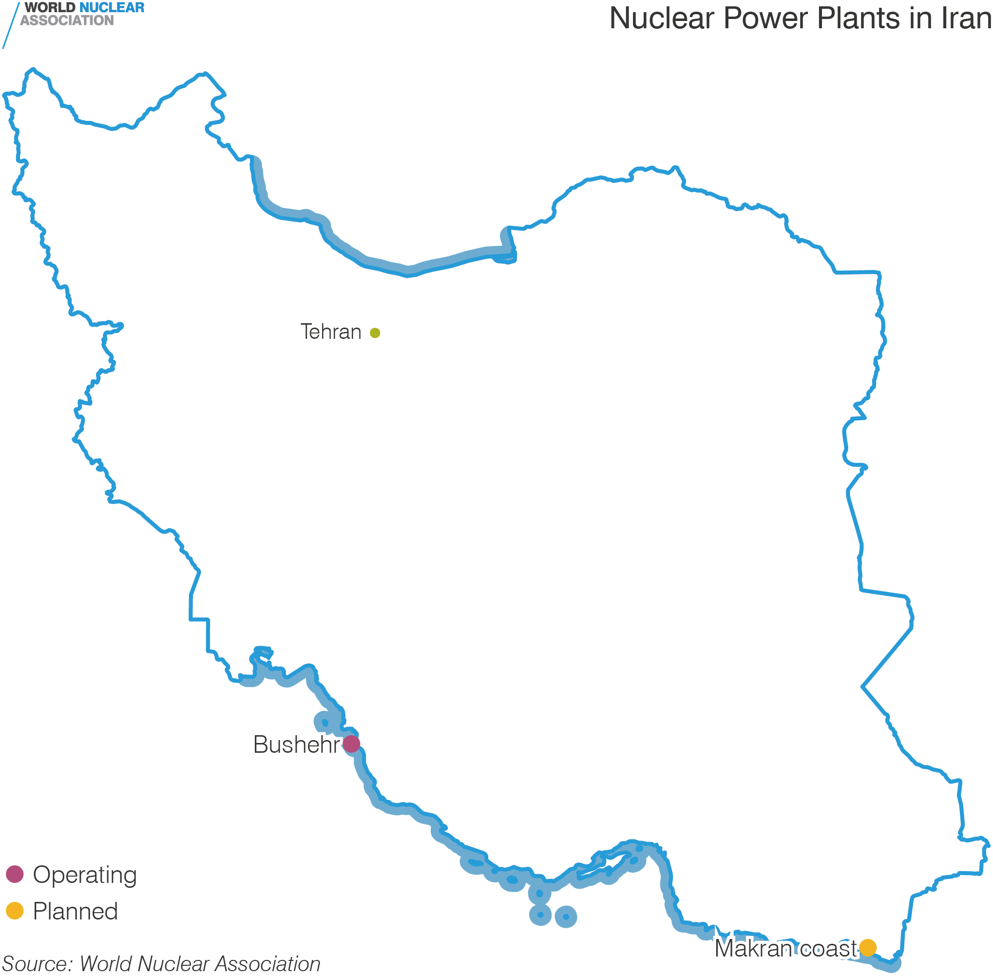 Nuclear Power Plants in Iran